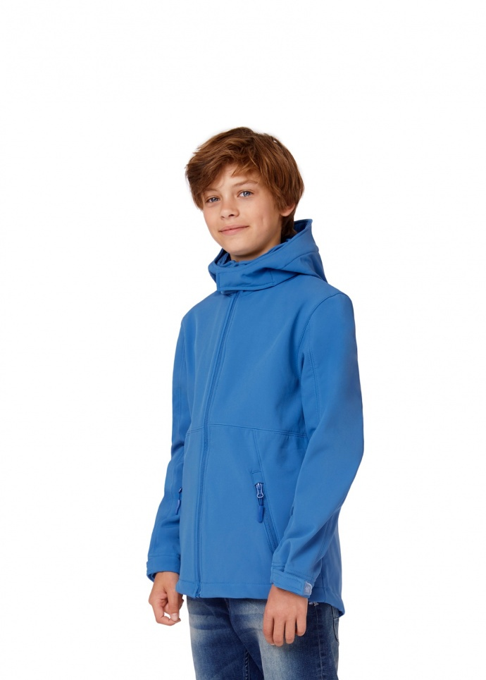 B&C Hooded Softshell /kids