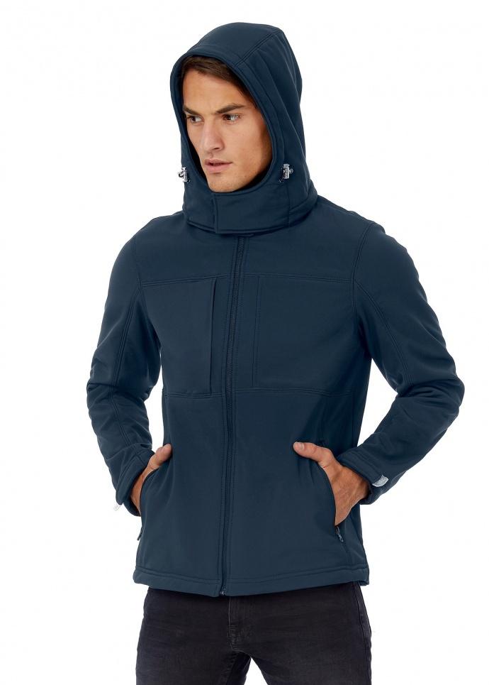 B&C Hooded Softshell /men