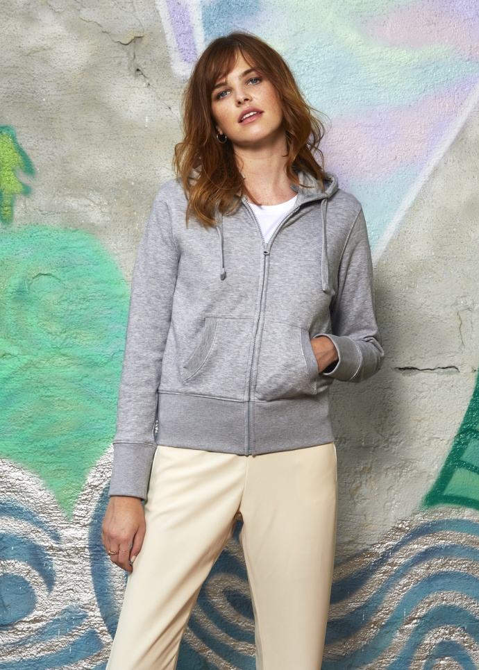 B&C Hooded Full Zip /women