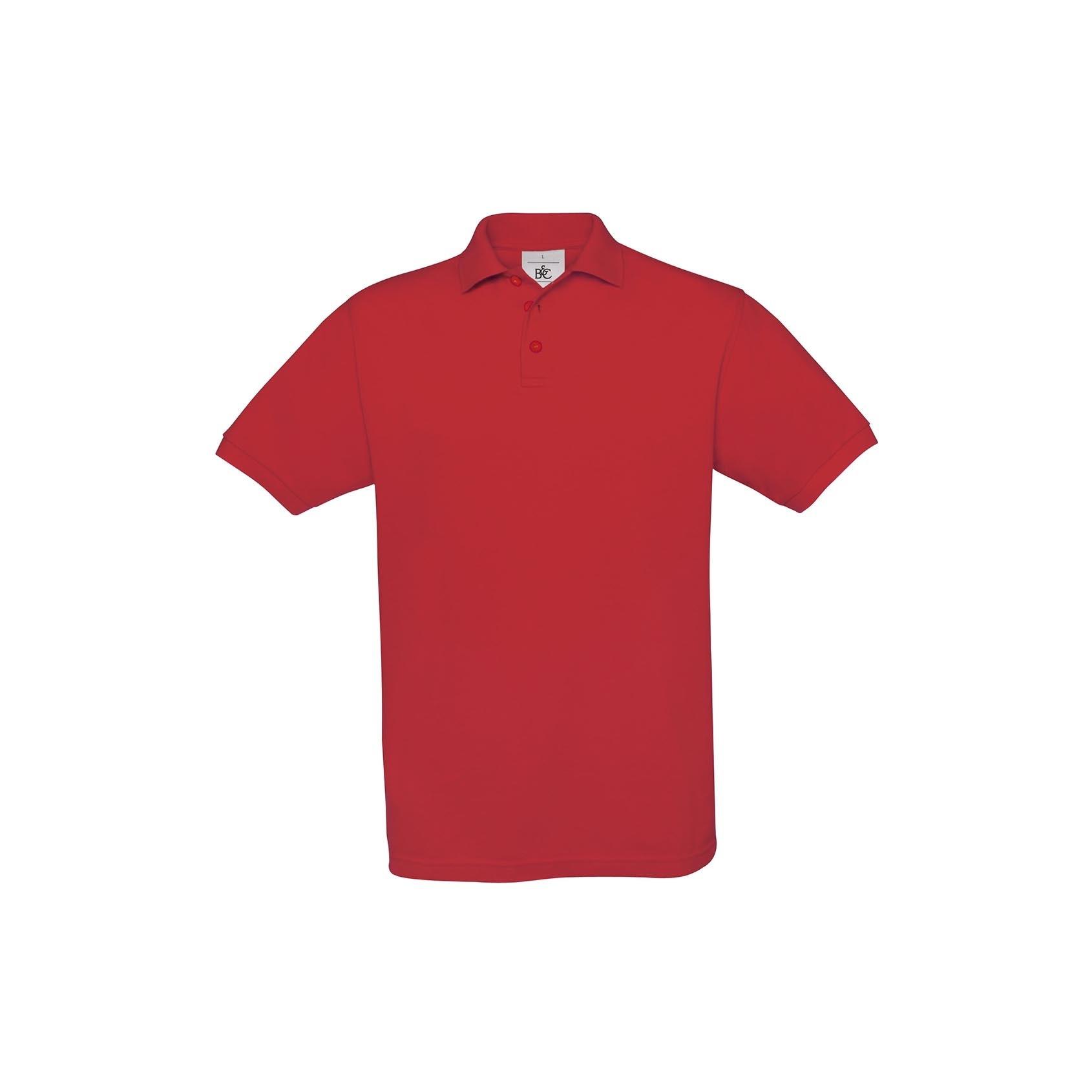 Piqu/é Poloshirt Safran B/&C