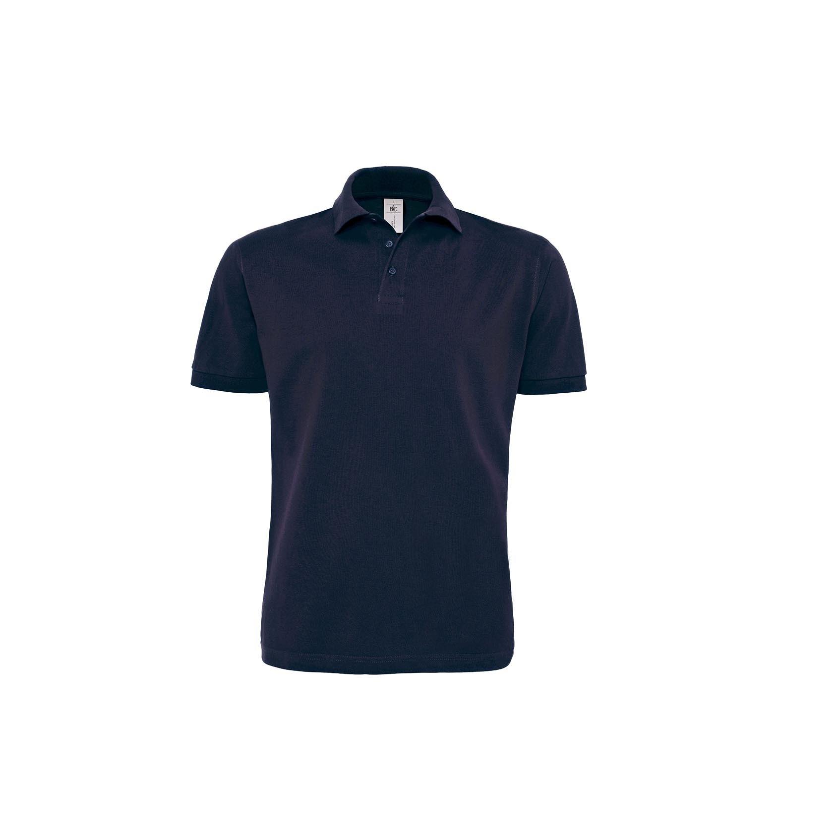 B/&C Heavymill Longsleeve Unisex Langarrm Herren Polo Shirt  Gr S bis 2XL