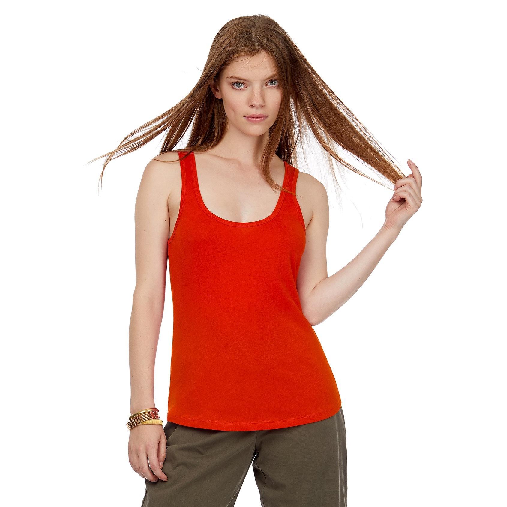 XL B/&C Damen Tanktop T-Shirt Vest verschiedene Größen und Farben XS