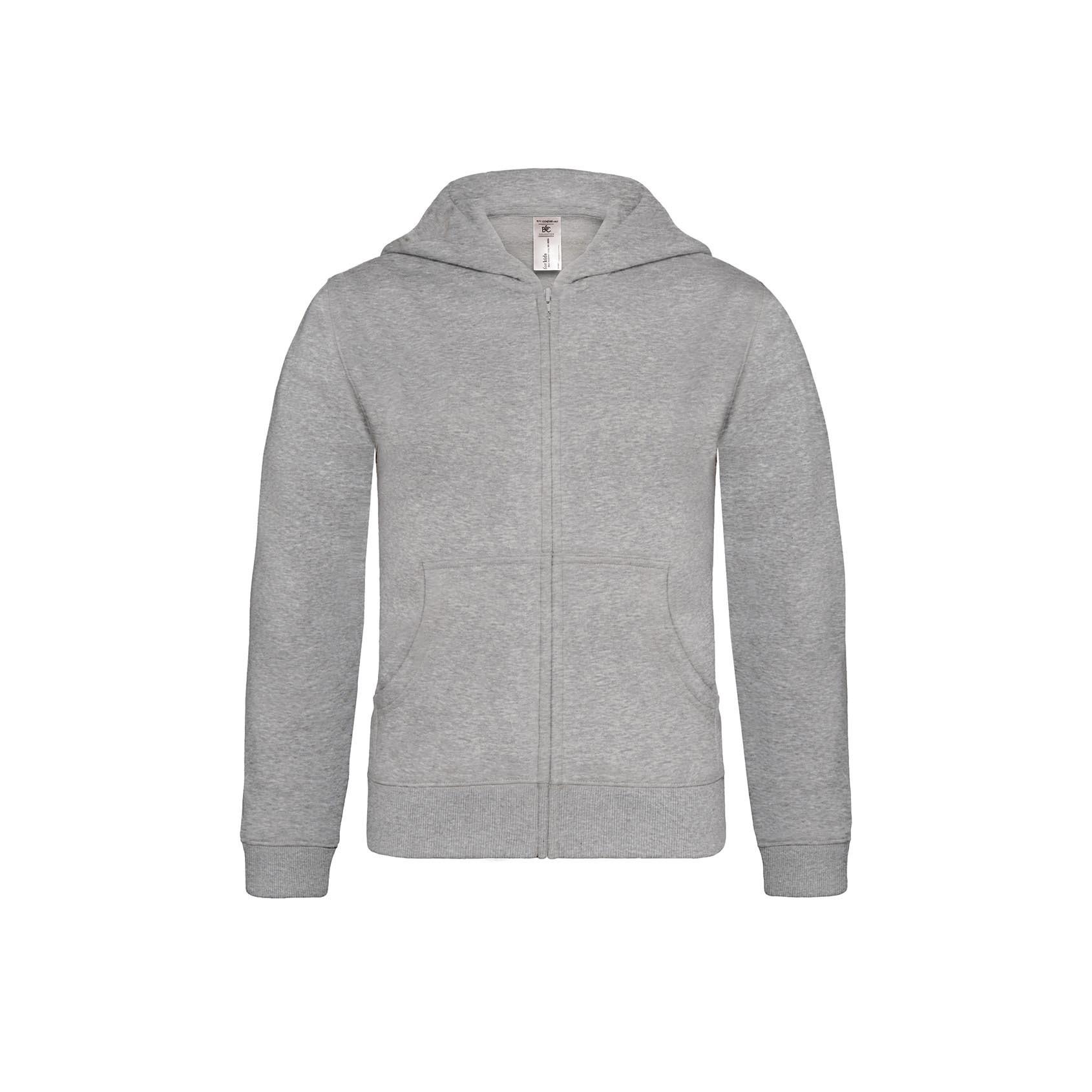 99d44443b B&C Hooded Full Zip /kids | B&C Collection