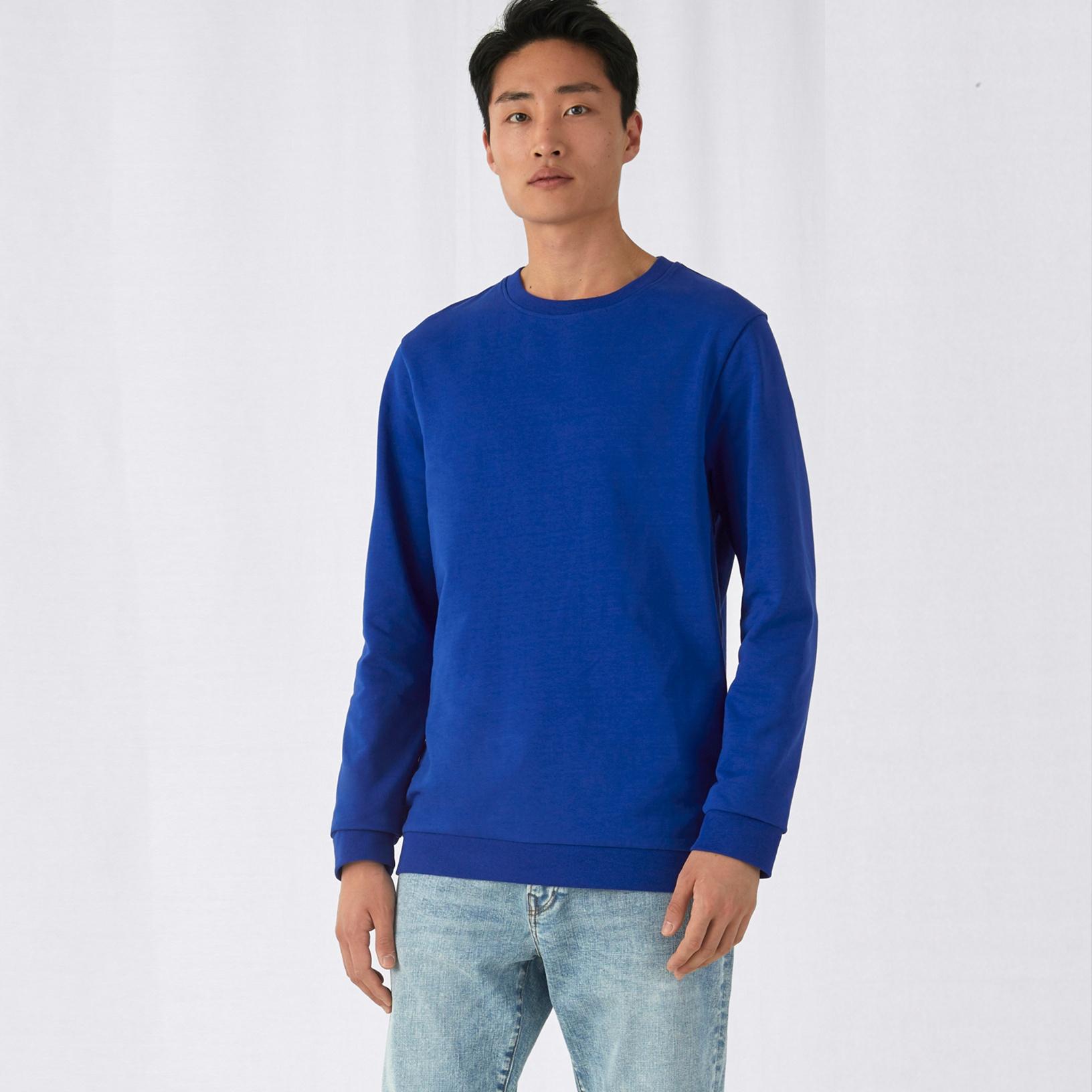 B/&C Collection Fashion Set-In Sweatshirt