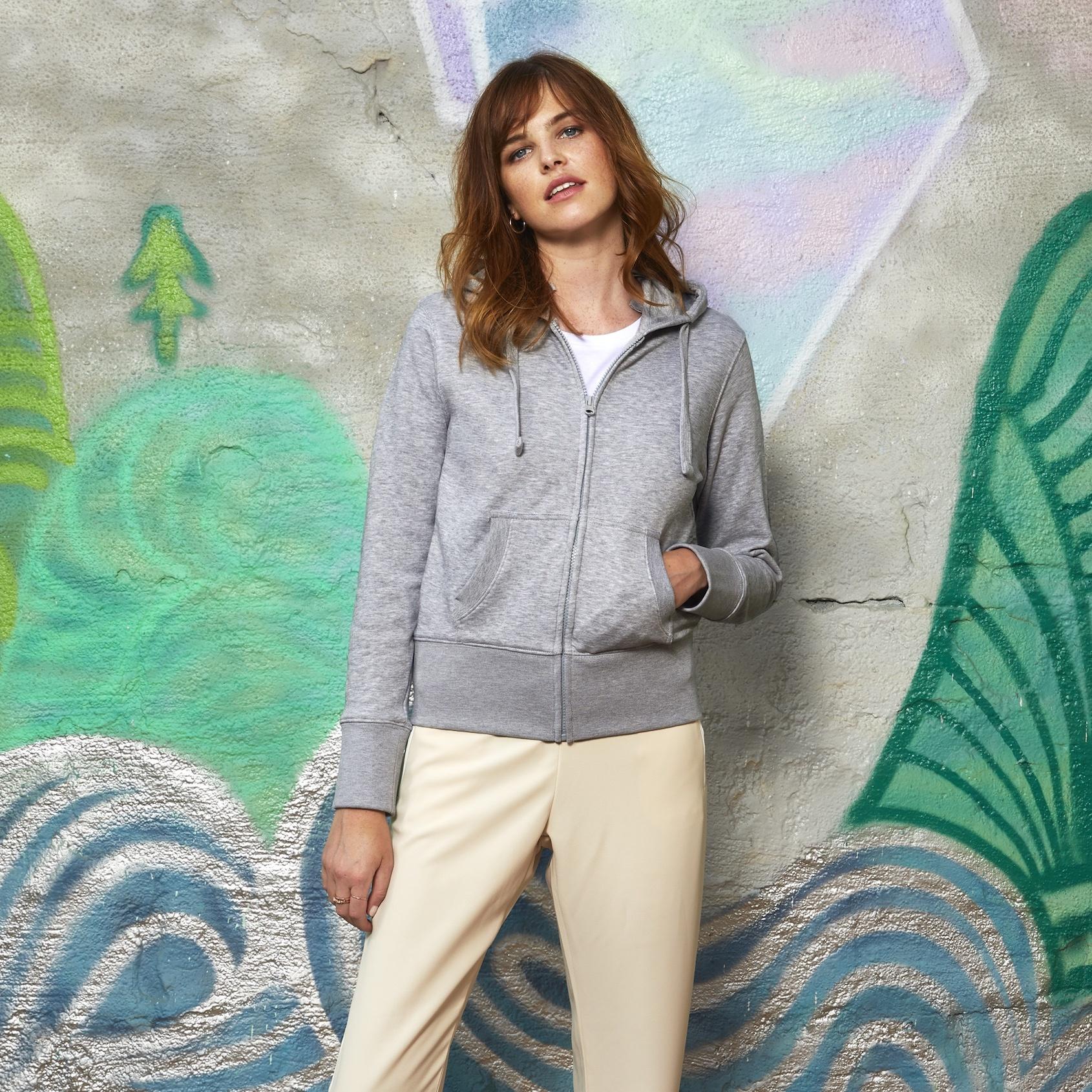 98d08c837 B&C Hooded Full Zip /women | B&C Collection