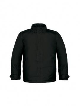 Waterproof Padded Winter Hood Coat B/&C Collection Men/'s Parka Jacket JM970