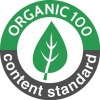 OCS 100 Certification - Contains 100% organically grown cotton. Certified by Control Union - CU1030092 - The Cotton Group