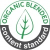 OCS Blended Certification - Contains 100% organically grown cotton. Certified by Control Union - CU1030092 - The Cotton Group
